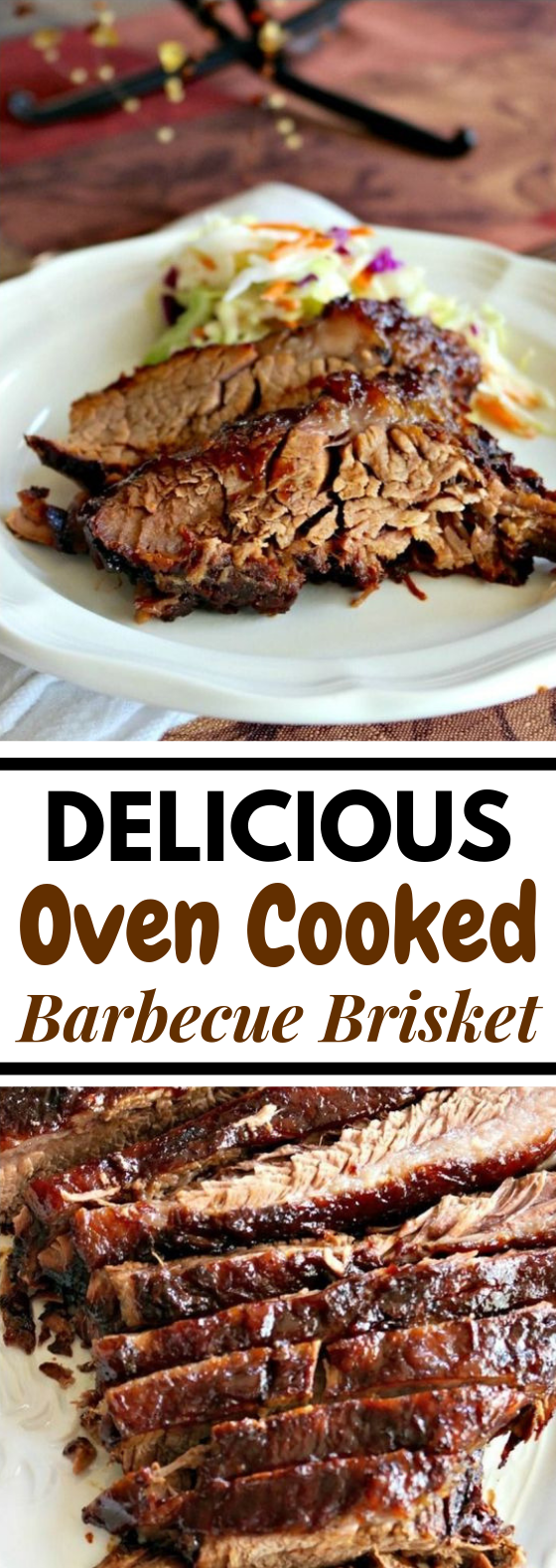 DELICIOUS OVEN COOKED BARBECUE BRISKET #Dinner #bbq