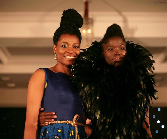 Ngozi Thompson Presenter TMC Season 9 and Winner Aramatou Toure