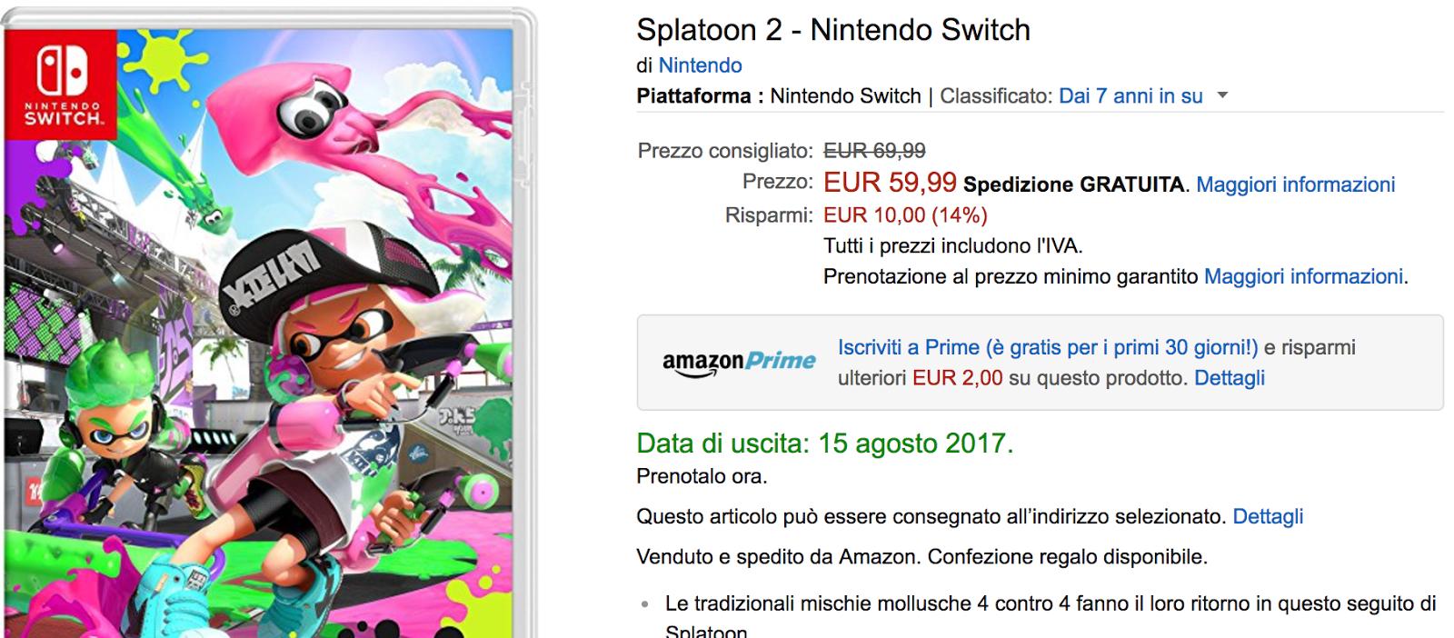 Splatoon 2 llegaría el 15 de agosto según filtración