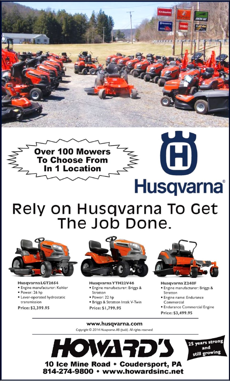 Howard's Husqvarna
