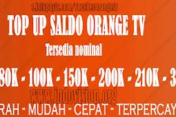 Voucher Orange TV Online Murah Terpercaya