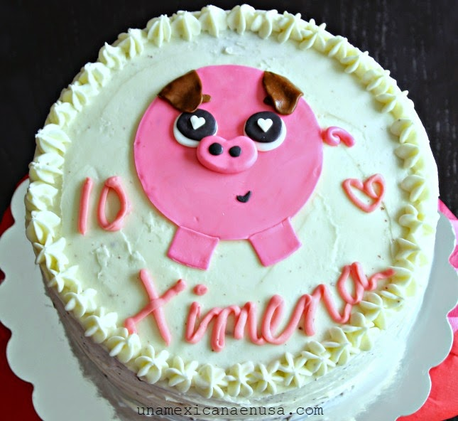 Baby Chuy piñata + pastel: inspirada en la película Book of life by www.unamexicanaenusa.com