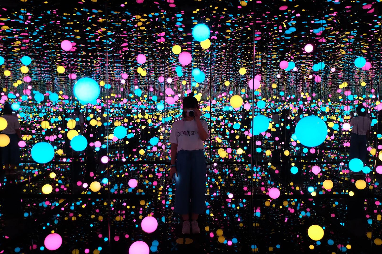 Infinity Mirrored Room Yayoi Kusama Museum MACAN | www.bigdreamerblog.com