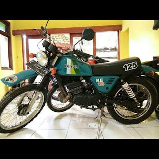 Dijual Kawasaki Binter KE 125 TAHUN 1981