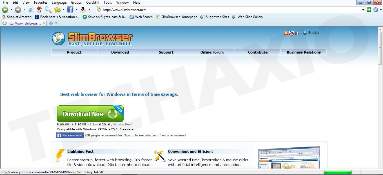 SlimBrowser Screenshot