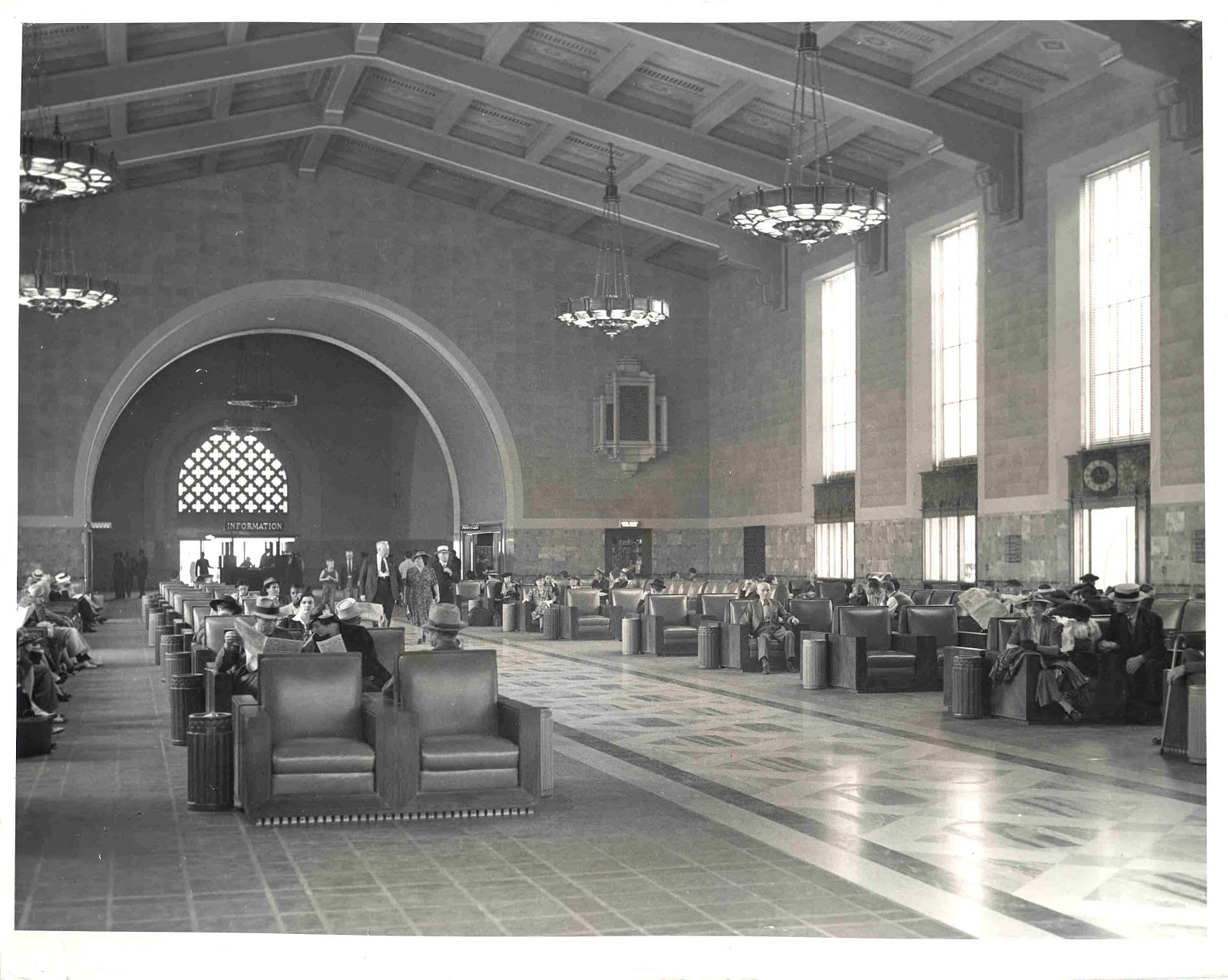 Phantom Los Angeles Los Angeles Union Station