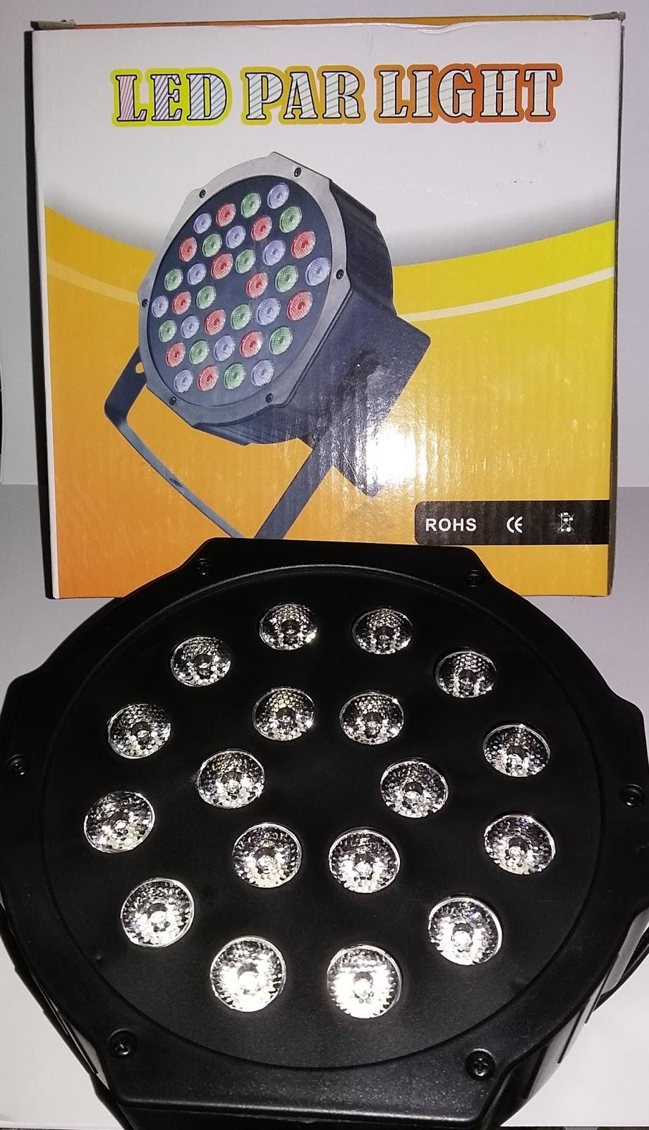 Led Par 18 Light Lampu Sorot Panggung Drcolections Disco Rp 17500000