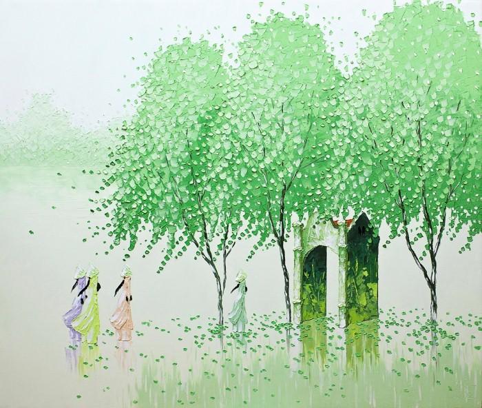 Современные вьетнамские художники. Phan Thu Trang 21