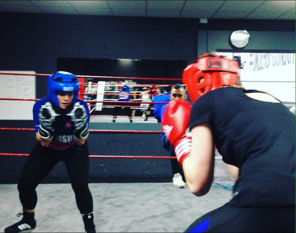 FitBits | Tess Agnew - Stingwray Boxing Ultra White Collar Brighton
