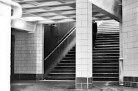 U2 Eberswalder Straße black white street photography