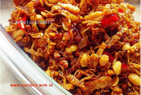 Resep orek tempe teri nasi box cimanggu ciwidey