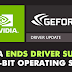 Nvidia Has Officially Ended Support For 32 Bit Computers & Operating Systems