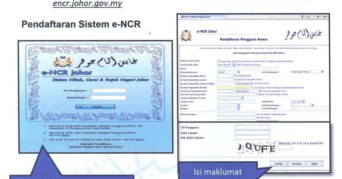Kursus Kahwin Segamat 2019 Panduan Mengisi Encr