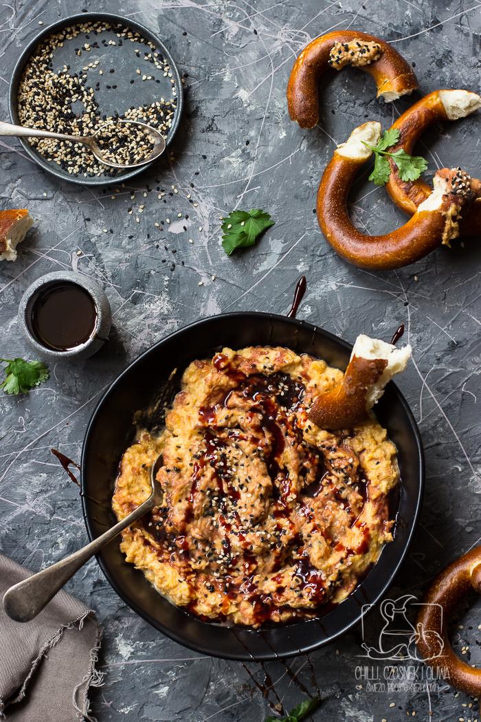 Pasta z dyni piżmowej i tahiny / Chilli, Czosnek i Oliwa