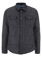 Jachetă matlasată de la Blend - Negru