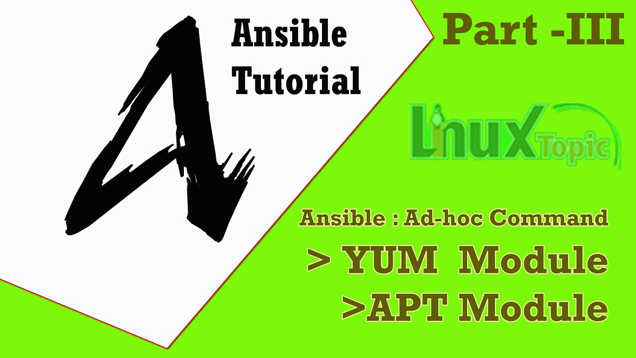 Ansible Tutorial - Package Management | Ansible Module YUM