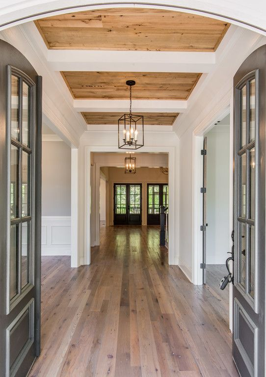 20 ways to decorate your ceiling bloom burgeon for Hardwood floors with wood ceilings