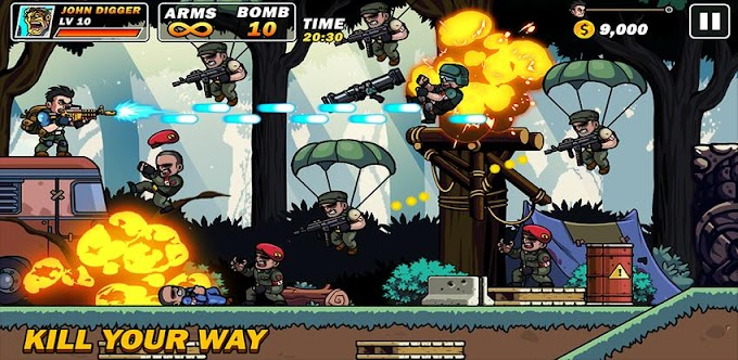 Metal Mercenary~2D Platform Action Shooter~for Android Gratis