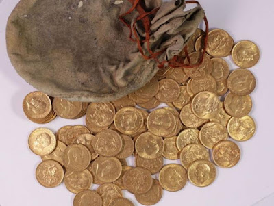 Misteri Harta Karun Koin Emas ditemukan Dalam Piano