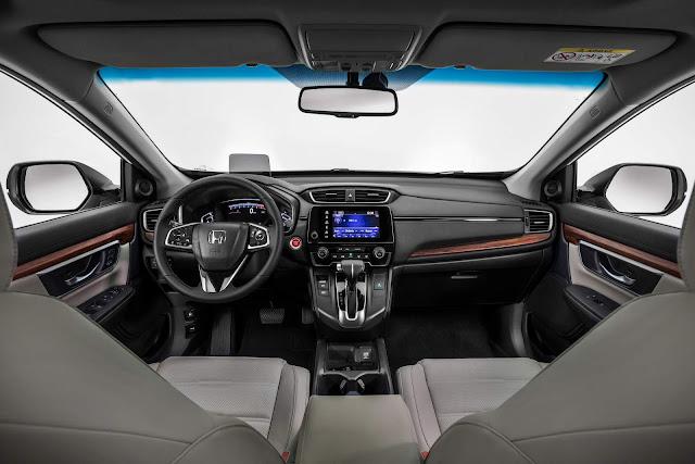 Novo Honda CR-V 2018 - interior