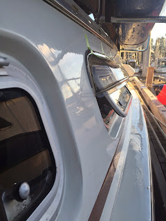 Dry fitting lexan port visor