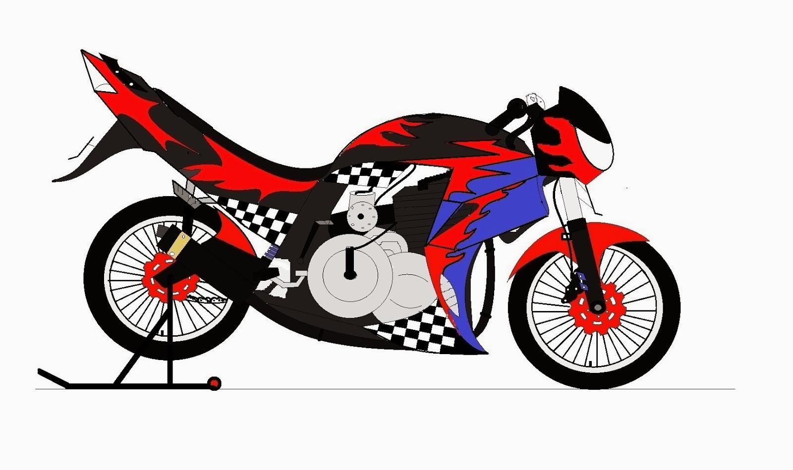 100 Gambar Motor Drag Cartoon Terbaru Dan Terlengkap Kewak Motor