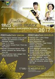 Duta Wisata Batang 2017