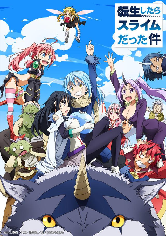 Anime Tensei Shitara Slime Datta Ken: Tráiler, reparto e imagen promocional