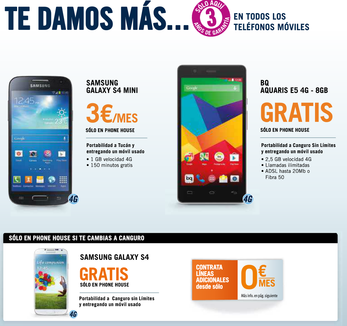 Ofertas Moviles Libres The Phone House Phonehouse Sur Ingenia Mobile Ofertas Orange