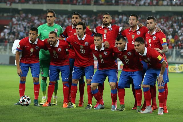 Formación de Chile ante Perú, Clasificatorias Rusia 2018, 13 de octubre de 2015