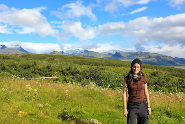 Vistas de la ruta hacia Svartifoss