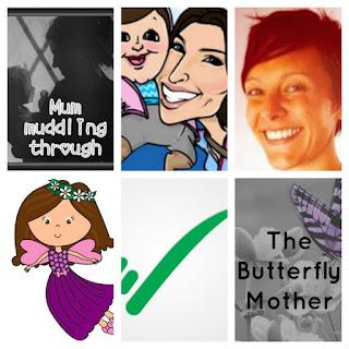 Six bloggers profile pics