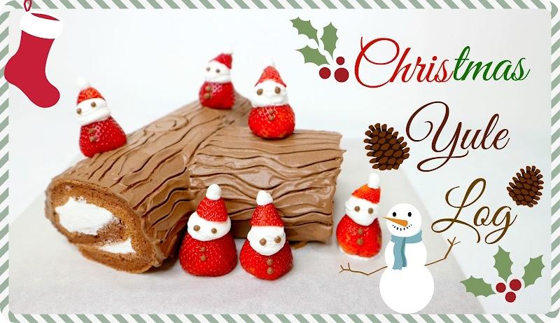 Christmas Yule Log 聖誕樹頭蛋糕