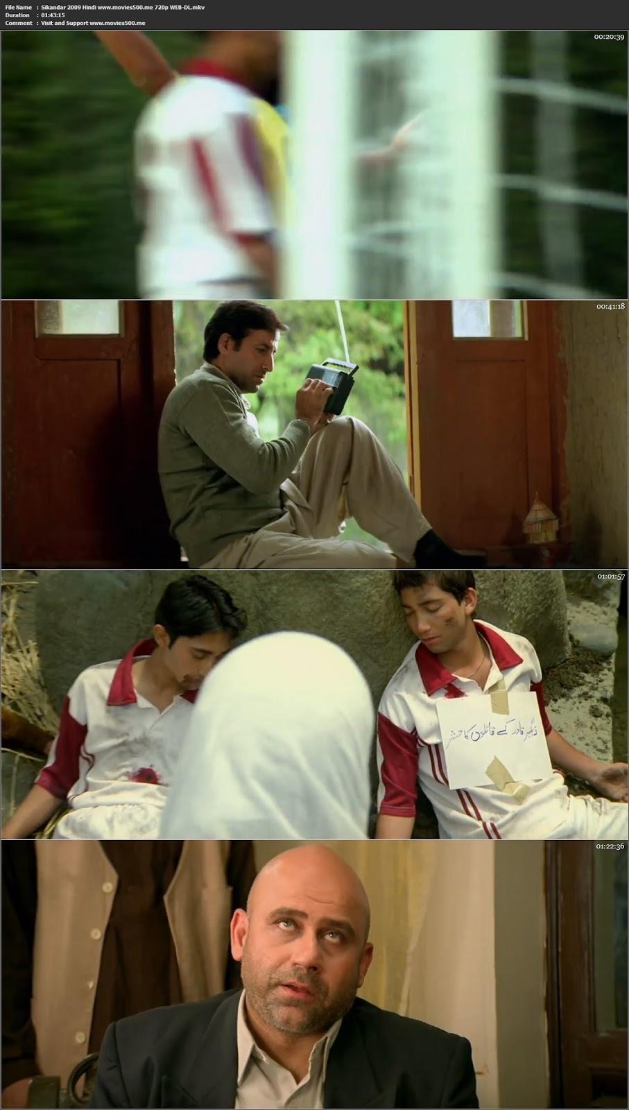 Sikandar 2009 Hindi Full Movie 700MB WEB DL 720p at movies500.info