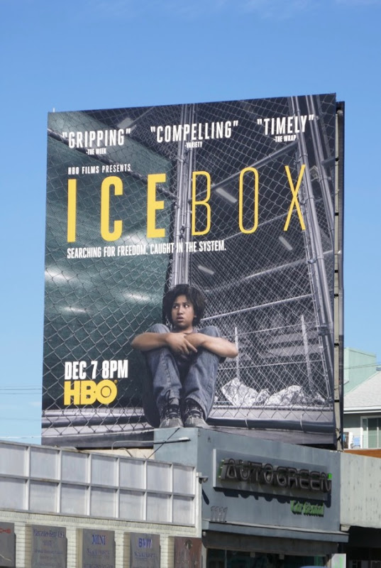 Icebox HBO film billboard
