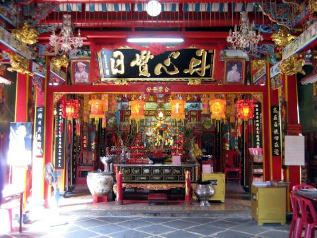 ศาลเจ้ากวนอูที่เก่าแก่ที่สุดในประเทศไทย