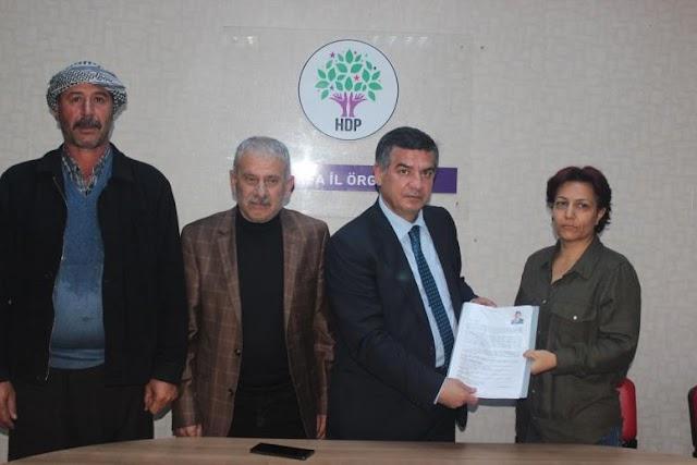 Yetim, HDP'den aday adayı oldu