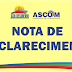 NOTA DE ESCLARECIMENTO DA PREFEITURA MUNICIPAL DE SÃO DESIDÉRIO SOBRE ACIDENTE ENVOLVENDO ÔNIBUS ESCOLAR