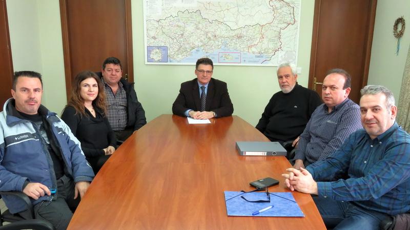 Συνάντηση Πέτροβιτς με τον νέο Διευθυντή και εργαζόμενους του ΕΚΑΒ Θράκης