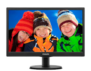 monitor lcd philips 16 in
