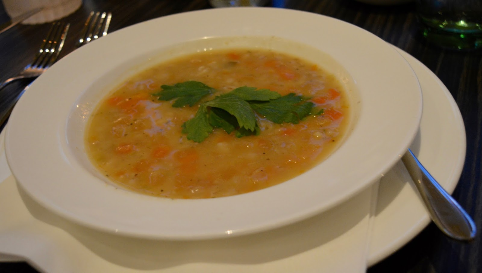 The Brasserie at the Grand Hotel, Tynemouth | New Tasting Menu review  - vegetable broth
