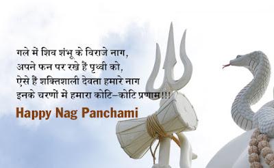 Happy Naag Panchami Shubhkamnaye Hindi SMS Wiishes Photos