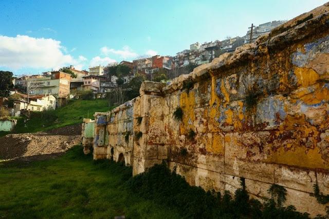 Hellenistic theatre of Smyrna under excavation