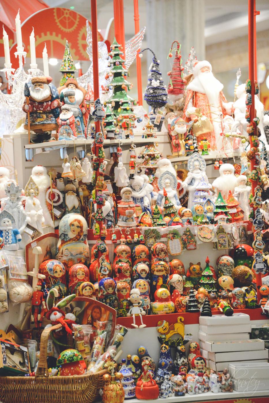 Russian Christmas souvenirs