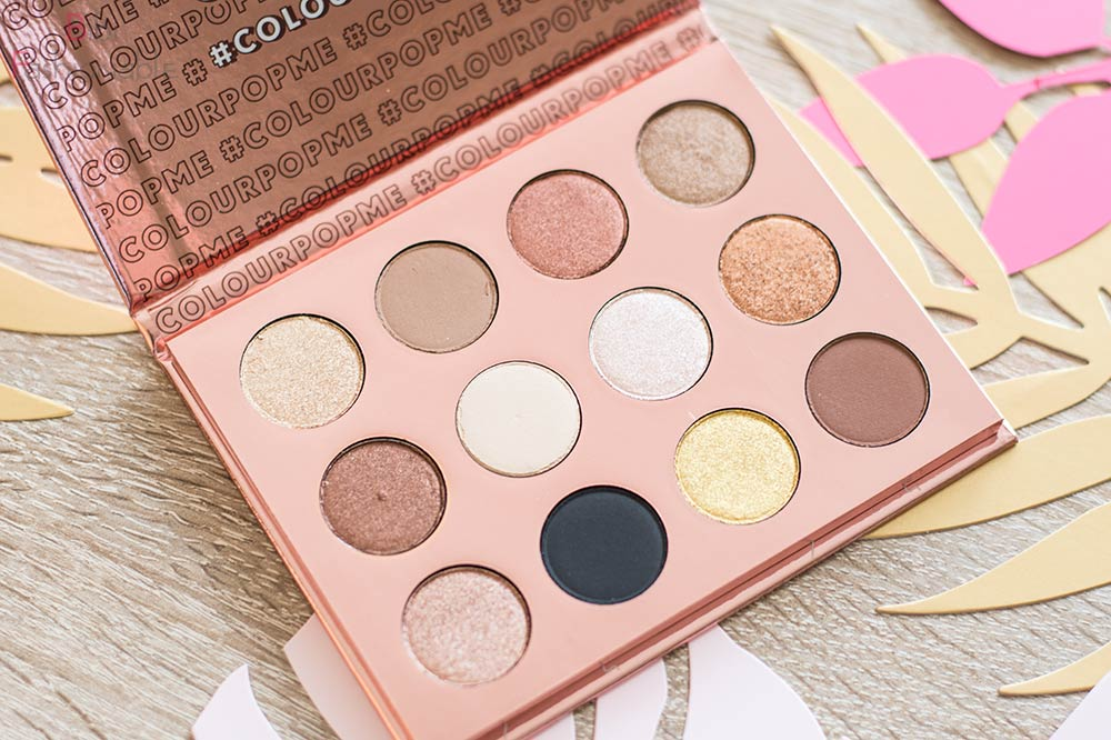 ColourPop I think I love you Pressed Shadow Palette offen