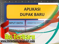 Download Aplikasi DUPAK Format Microsoft Excel Terbaru 2016
