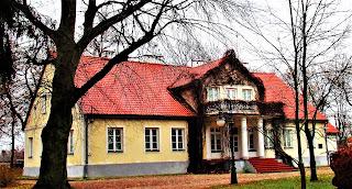 Dworek hrabianki Aleksandry z Sędzimirów Bąkowskiej - Gołotczyzna