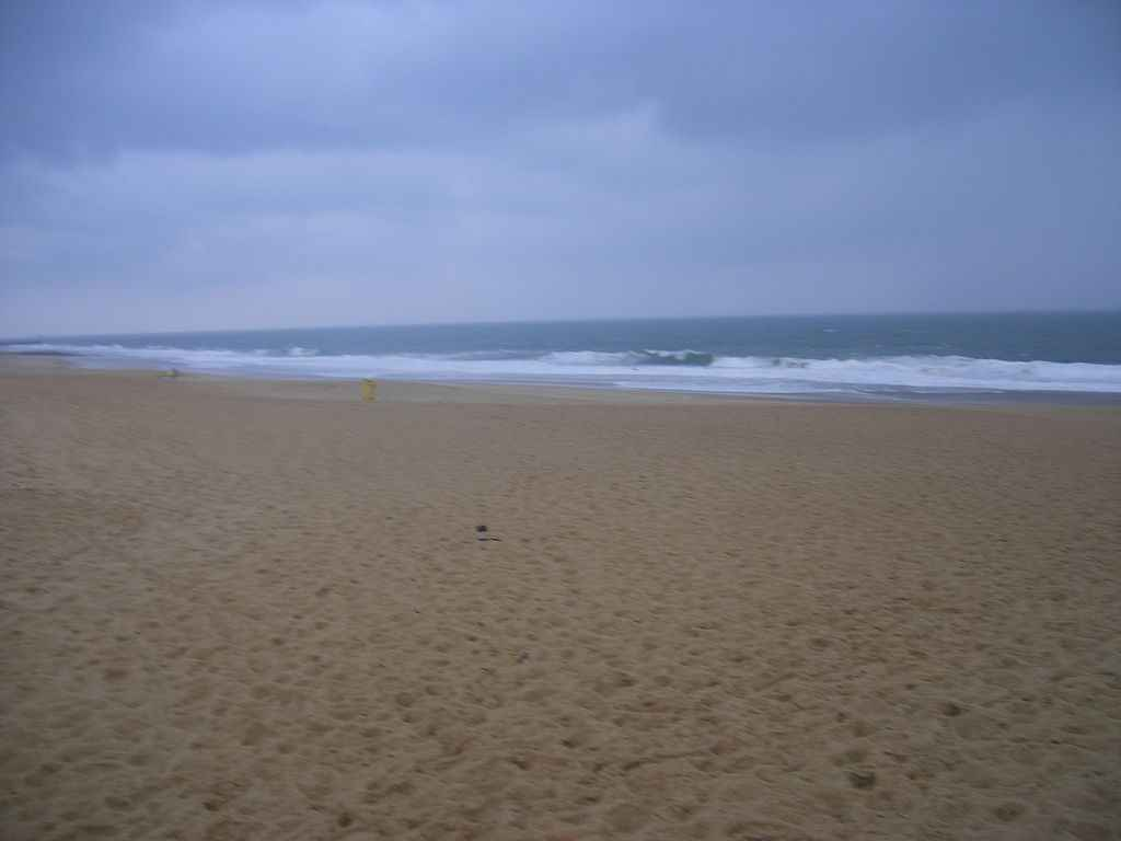 Official nude beach in Hossegor (Landes, France)