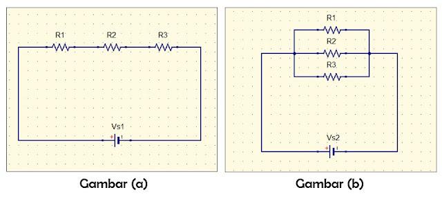 Contoh Soal Resistor Seri, Paralel Dan Kombinasi Seri-Paralel