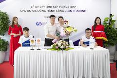 Lễ ký kết hợp tác giữa Clan Thái Bình và thương hiệu chăm sóc sức khỏe SPO Royal